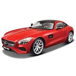 Maisto 118 Mercedes-benz Amg Gt Red Collectable Diecast Model