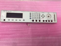 Agilent 81110a Pulse Pattern Generator 165/330 Mhz Front Display Only