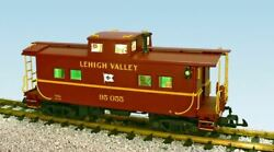 Usa Trains R12163 G Lehigh Valley Ultimate Series Center-cupola Steel Caboose