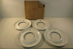 Nos 1949 1950 1951 Vintage 15 Wheel Beauty Rings Hubcaps Plymouth Chrysler