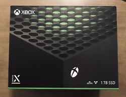Microsoft Xbox Series X 1tb Video Game Console Black - In Hand And Ships Now