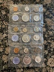 1963, 1963 And 1964 Philadelphia Mint Sets, Sealed Uncirculated