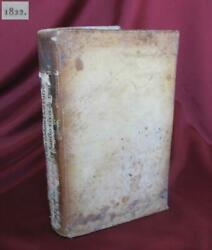 1822 Antique Italian Medical Book W/leather Covers Andndash Surgery Rare