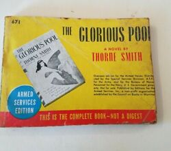 Armed Service Edition The Glorious Pool By Thorne Smith