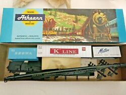 Ho Scale Athearn Cando 85and039 Flat Car With Containers Showa K Line Matson