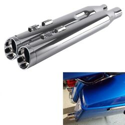 Sharkroad 4.0 Slip Ons Mufflers For Harley Touring 17-up Street Glide Exhaust