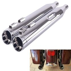 Sharkroad 4.0 Slip Ons Mufflers For Harley Touring 95-16 Street Glide Exhaust