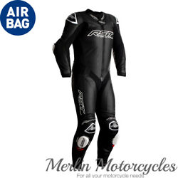 Rst V4.1 Race Dept Airbag Motorcycle 1 Piece Leather Suit Kangaroo Track Air Bag