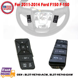 For 2011-2014 Ford F-150 F15 Cruise Control Kit Speed And Media Vol Switch