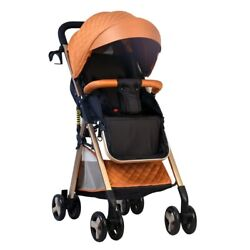 Portable Travel Baby Stroller Carriage Can Sit Reclining Folding Shock Absorber
