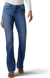 Lee Womenand039s Modern Series Curvy Fit Bootcut Jean With Hidden Pocket