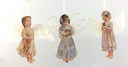 Heavens Little Angels Ornament Collection 1999 Bradford Editions S780