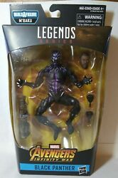 Chadwick Boseman Black Panther Marvel Legend Avenger Action Figure Doll NIB gift