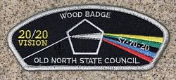 Old North State Council Wood Badge Council Strip