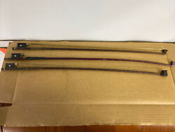 3 Antique 1800s Violin Bows 1 Signed Germany