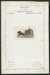 Photo O. F. Sage For Sage's Trunk Depot Brand Trunks,bags,valises