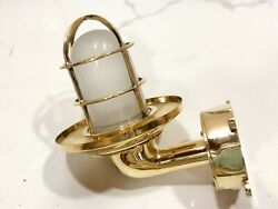 Nautical Swan Passage Wall Light Extra Shade Junction Box White Glass Lot 10