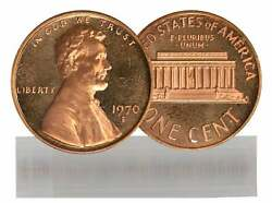 1970-s Small Date Bu Lincoln Cent 50-coin Roll