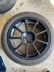 19 Wheel And Michelin X-ice Snow Tire Package. Used