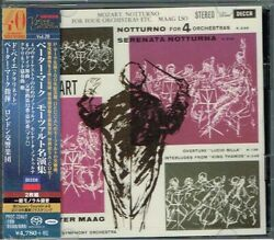 Mozart Peter Maag Great Performances Japan 2 Sacd W/obi New/sealed Tower Records