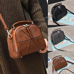 Women Leather Shoulder Bag Messenger Crossbody Girls Handbag Satchel Travel Tote $22.79