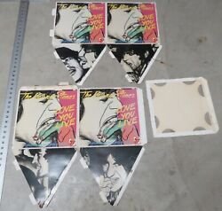 1977 Rolling Stones Love You Live Record Store Promo Display Large And Rare