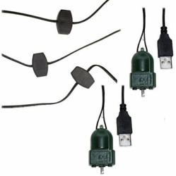 Usb Extension Cord Usb0001 And 2 Christmas Ornament Spinners Usb0003 Animated Tree