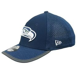 Nfl Seattle Seahawks New Era Child Youth 2017 Onfield 3930 Training Hat Cap