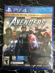 Marveland039s Avengers Deluxe Edition - Playstation 4 World Edition