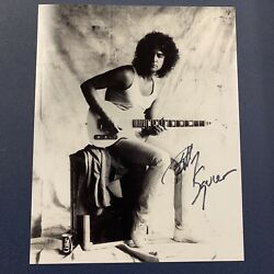 Billy Squier Hand Signed 8x10 Photo Autographed Legendary Singer Coa