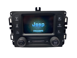 15 16 17 Jeep Renegade Oem Vp2 Touch Screen Multimedia Am Fm Sat Radio Receiver