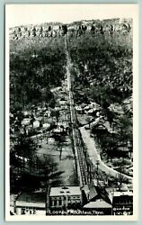 Chattanooga Tennesseelookout Mountain Incline Railwayhomes1940s Cline Rppc