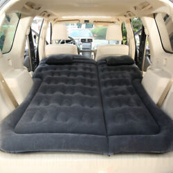 Inflatable Bed Mattress Car Suv Back Seat Sleeping Camping Bed For Travel H5f6