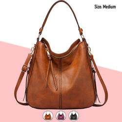 Hobo Bag Women Faux Leather Purses Handbags Shoulder Crossbody Fashion Vegan $29.99