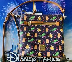 2020 Disney Parks Dooney amp; Bourke Tangled Rapunzel Crossbody 10th Anniversary B $249.95