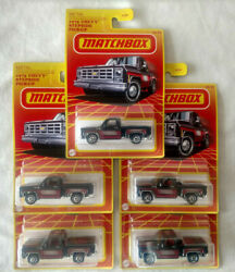 2020 Matchbox Retro And03975 Chevy Stepside Pickup Lot Of 5 Target Exclusive Htf 164
