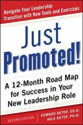 Just Promoted A 12 Month Road Map for Success in Your New Leadership Role Sec