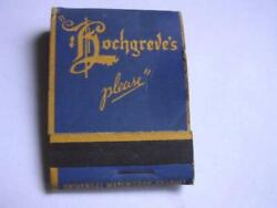 1940and039s Hochgreveand039s Beer Hochgreve Brewing Co Green Bay Wis Full Matchbook Wi