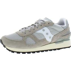 Saucony Mens Shadow Original Sude Mesh Trainers Sneakers Shoes Bhfo 3704