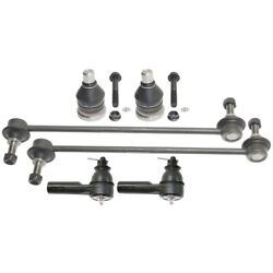 Set Of 6 Suspension Kits Front Left-and-right 5m6z3a130aa, Zzca32280 Lh And Rh