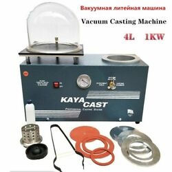 Jewelry Vacuum Casting Machines Professional System 1000w Powers 4l Capacity New