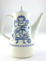 Vintage Coffee Pot Turi Design Lotte Made In Norway Line Art Drawing S883