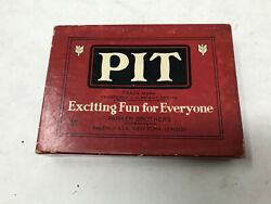 Vintage Pit Card Game Parker Bros - Very Good Condition - Free Shipping