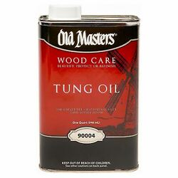 Tung Oil, Hand Rubbed Finish, 1-qt. -90004