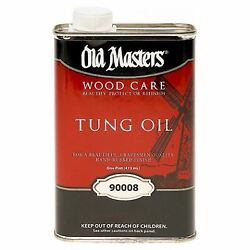 Tung Oil, Hand Rubbed Finish, 1-pt. -90008