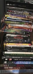 Dvd Movie.music And More Lot Like New Pick Yours- Free Shipping After 1st