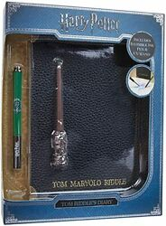 Harry Potter Tom Riddle's Diary Invisible Ink Pen And Uv Wand