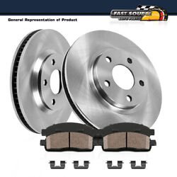 For Grand Prix Cutlasslumina Chevy Monte Carlo Front Rotors And Ceramic Pads