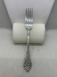 One Reed And Barton Florentine Lace Sterling Silver Salad Fork 6-1/2