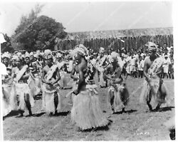 Crp-33617 South Pacific Islands Documentary Native Girls Dancing On The Beach Fi